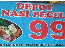 Depot Nasi Pecel 99 Madiun