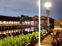 Rumah makan kampung Laut Semarang